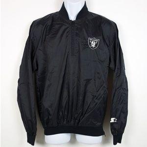 STARTER Jackets & Coats - Vintage 90s Starter Oakland Raiders Nylon Jacket S